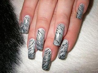Малюнок на нігтях голкою в домашніх умовах