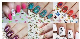 Как красиво сделать ногти с наклейками - Shkafs-kupe.ru