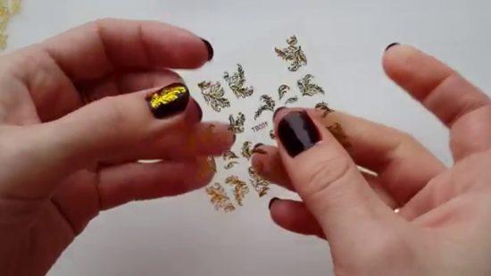 Слайдер на ногти как наносить
